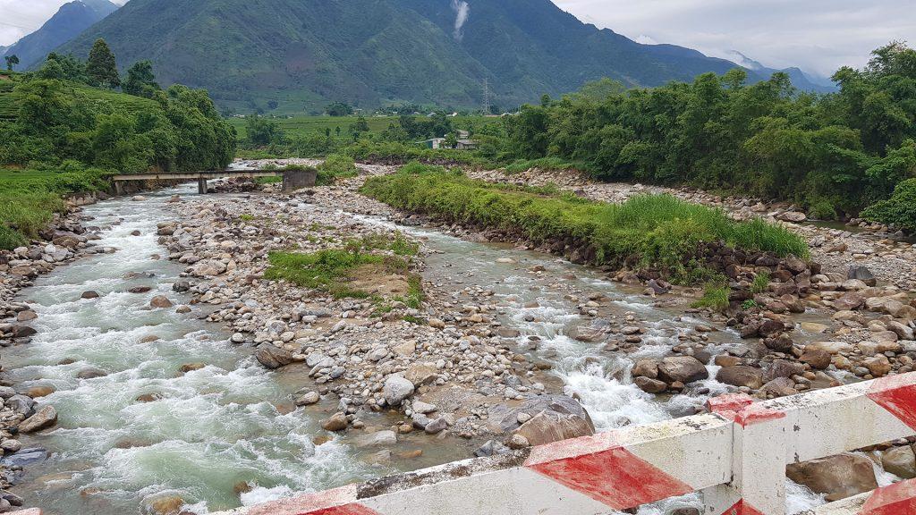 a pretty river in North Vietnam