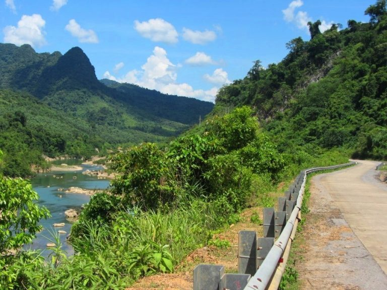 take your time on the Western Ho Chi Minh Road, because the scenery is fantastic