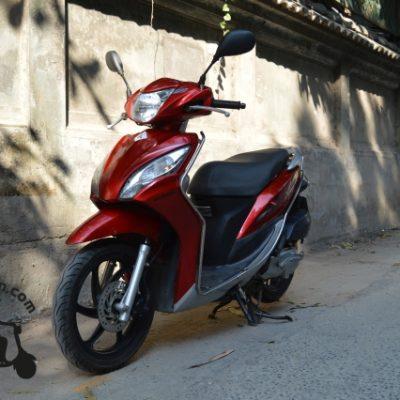 Honda Vision Red