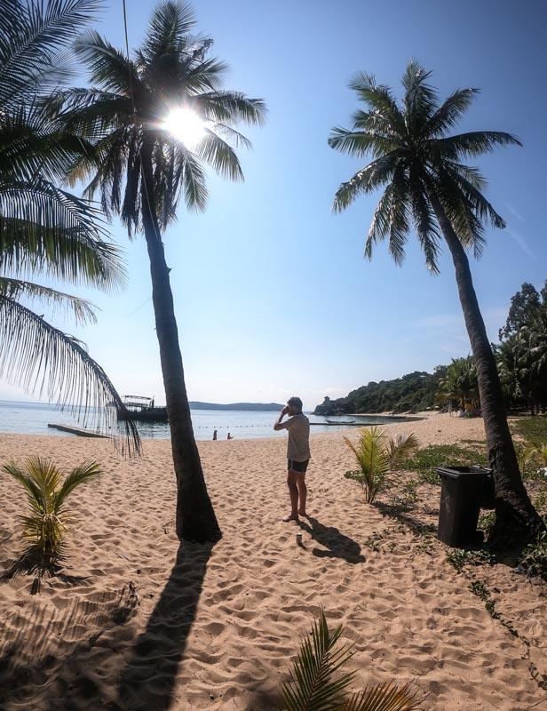 Bai Huong Beach near Danang