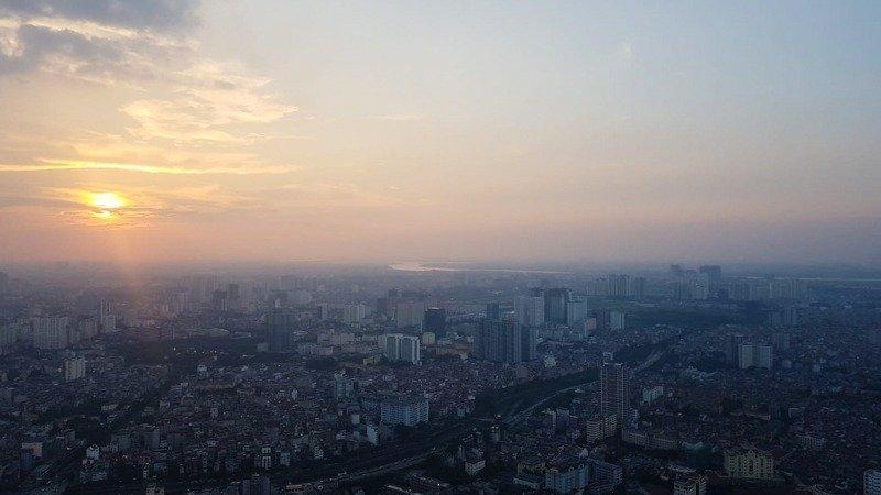 Sunset Hanoi