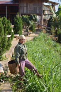 Pu L uong Woman Working