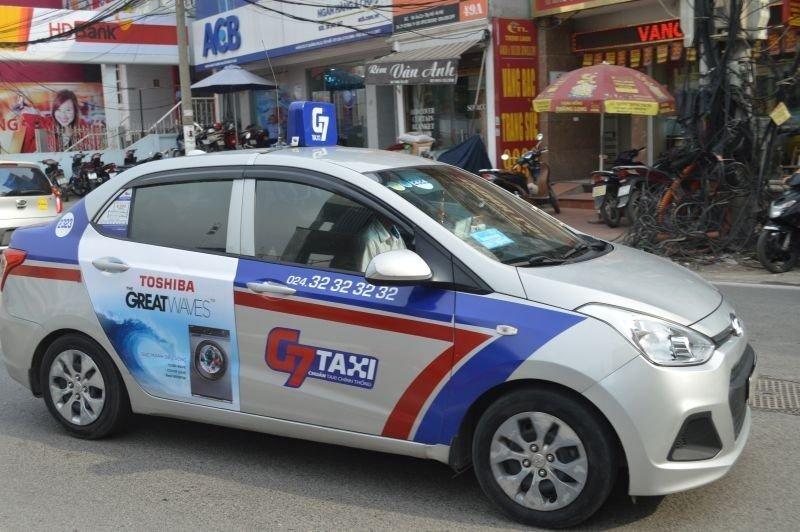G7 Taxi Company, Hanoi, Vietnam