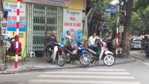 xe om drivers in the old quarter hanoi