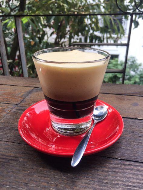 ca phe trung, Vietnamese egg coffee