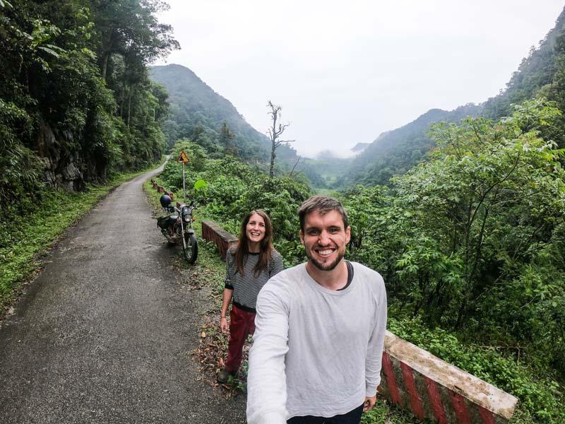 Ellie and Eddie toured Vietnam on one of our motorbikes
