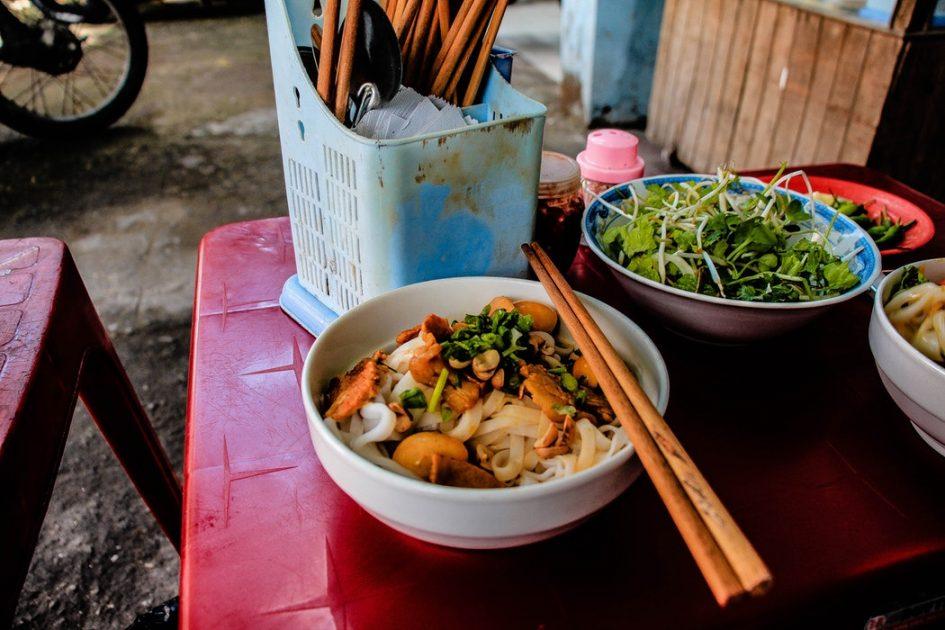 Vietnamese food dish