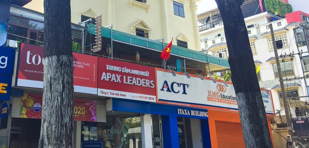 APAX English centre in HCMC