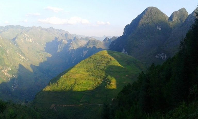 the Ma Pi Leng Pass - probably the most astonishing mountain road in all of Vietnam