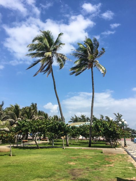 front Beach, Vung Tau Promenade