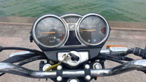 Honda Master 125 - keyhole