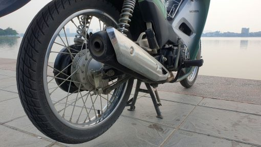 Honda Wave Alpha - exhaust