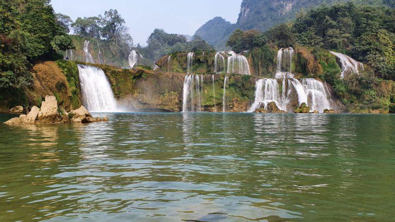 Ban Gioc Waterfall in Cao Bang, North Vietnam