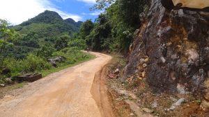 fun wee road in Mai Chau