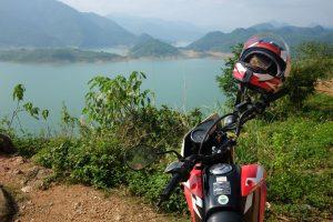 Honda XR 150, Hoa Binh lakeside