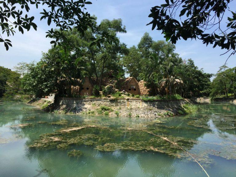 a little island in Ninh Binh