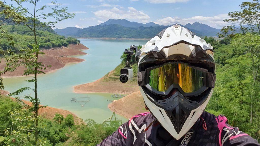 selfie by the Da River