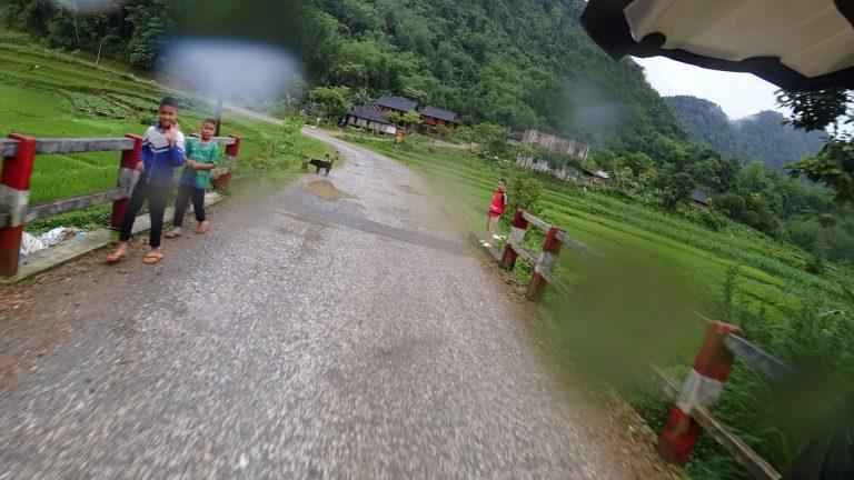 speed, rain and children