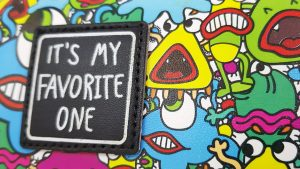 Vietnamese pencil case - it's my favourite one